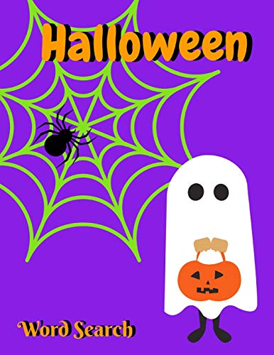 Halloween Word Search: Activity Book for Kids and Adults, All Ages (Elite Puzzles)