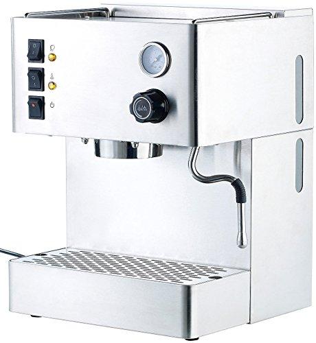 Cucina di Modena Espresso-Bereiter: Siebträger-Espressomaschine ES-1500.mm mit Manometer...