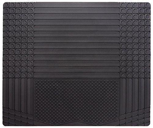 Daytona KR2, Allwetter Kofferraummatte  in schwarz | 1-teiliger zuschneidbarer Kofferraumschutz | Antirutsch Matte für Kofferraum | Allwetter Laderaumschutz | Auto Schmutzfangmatte
