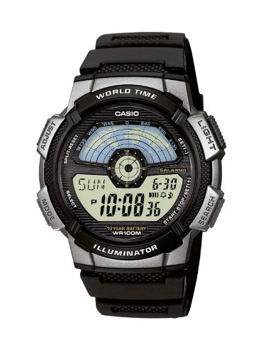 Watch Casio Time World (Casio Collection Herren-Armbanduhr AE 1100W 1AVEF)
