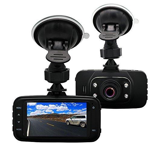 yalaso 2,7-Zoll 1080P HD DVR Dash Cam Kfz Bewegungserkennung mit G-Sensor mini-drive Recorder