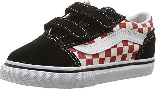 der Old Skool (Schachbrett) Skate-Schuh 5 Kleinkinder US 5 M US Kind Schachbrett/Schwarz/Rot ()