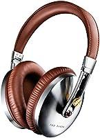 Ted Baker London Rockall High-Performance Folding Over-Ear Headphones - Brown/Silver