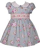 Bonnie Baby Baby Mädchen Festliches Rosen Kleid inkl. Passendem Windelhöschen Gr. 56,62,68,74,80,86 Größe 86