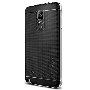 Spigen Galaxy Note 4 Case Neo Hybrid Metal Series (Silver) SGP11125