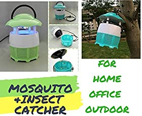 FreshDcart Mini Home Mosquito Lamp Killer Machine, Fly Killer Electronic with No Radiation Mos-Quito Catching m/c (Colour May Vary)
