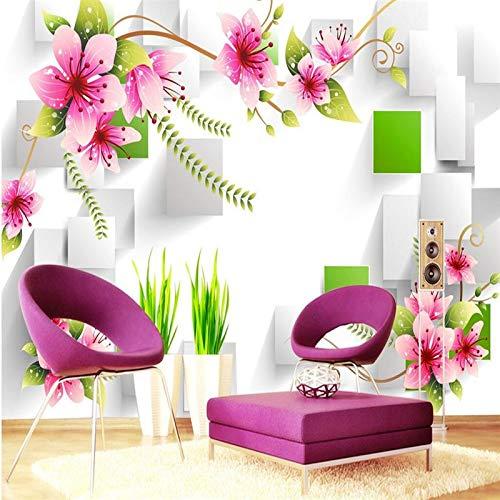 ZHENSI Fondos De Pantalla 3D Papel Tapiz 3D Decoración Mural Foto Telón De Fondo Fotografía 3D Estéreo Dragón Amarillo Habitación Hotel Café Mural Pintura Mural215(H)×290(W) Cm