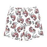 MERRYHE Pantaloncini da Spiaggia Unisex Tronchi da Bagno Quick Dry Costumi da Bagno Abbigliamento da Spiaggia Surf da Corsa Nuoto per Coppia Uomo Donna Ragazzi Ragazze con Fodera in Mesh,MenC-XS