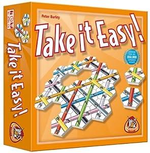 White Goblin Games Take it Easy Puzzle Board Game Niños y Adultos - Juego de Tablero (Puzzle Board Game, Niños y Adultos, 20 min, 8 año(s), Holandés, Inglés, Caja)