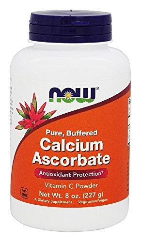 NOW Foods - % della polvere 100della vitamina C attenuata Pure dell'ascorbato del calcio - 8 oncia. - 51Czt1eQUnL