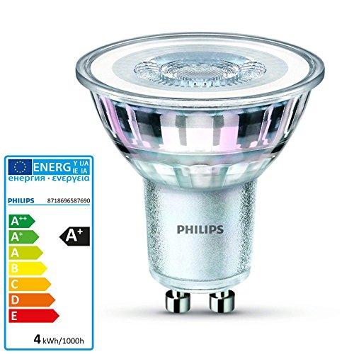 Lichter-gläser-reflektoren (Philips-GU10Glas Reflektor LED 3,1W 827| 2700K 36Grad, ph-58769000)