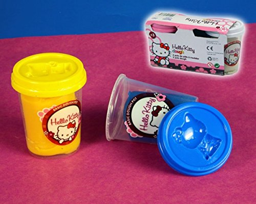 Hello Kitty Plastilina 2 Botes, 1 unidad