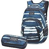 DAKINE 2er SET Rucksack Schulrucksack Laptoprucksack 33l CAMPUS LG + SCHOOL CASE Mäppchen Resin Stripe
