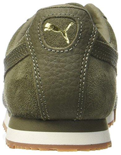 disfruta del precio inferior primer nivel gama completa de artículos Puma Unisex Adults' Roma Natural Warmth Low-Top Sneakers, Green ...