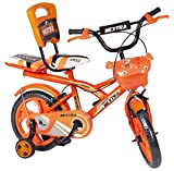 Speed bird cycle industries 14-T Robust Double Seat Kid Bicycle for Boy