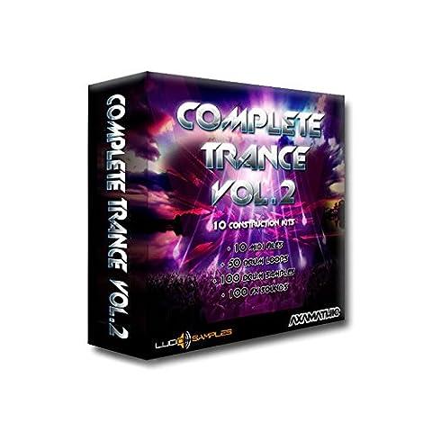 Complete Trance Vol. 2 [DVD non BOX] - Complete Trance Vol.2 est une collection complete de samples parfaits pour la production de la musique trance. Nous offerons 10 collections pour construction de la musique trance, 10 fichiers midi, 100 effets sonores...