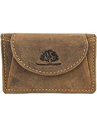 Greenburry Vintage bourse cuir 10 cm brown