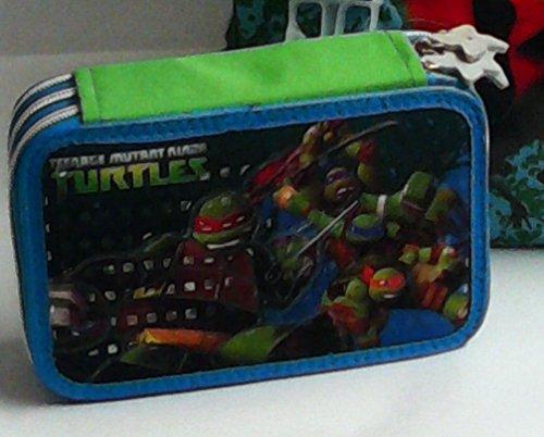 Estuche 3pisos Turtles Ninja