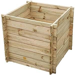 selections bac compost en bois petit 373 l jardin. Black Bedroom Furniture Sets. Home Design Ideas