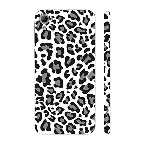 Enthopia Designer Hardshell Case A white Leopard Back Cover for HTC Desire 826  available at amazon for Rs.95