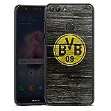 DeinDesign Huawei P smart Hülle Case Handyhülle Borussia Dortmund BVB Holzoptik