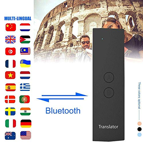 Ceepko T6 Traduttore Vocale,Intelligent Voice Traduttore di Lingue WiFi,4,9 Pollici Portatile Dispositivo Interpretazione Simultanea in 41 Lingue Portatile Adatto per Viaggi Apprendimento Business