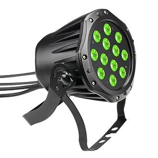 Cameo Outdoor PAR TRI 12x 3W 3-farbige LED Outdoor PAR Kanne RGB - Schwarz