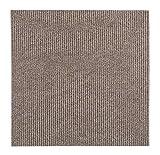 andiamo Teppichfliesen selbstklebend Teppichboden Bodenbelag selbstliegend, Farbe:Beige, Größe:1 m²