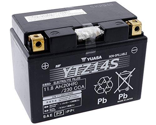 Batterie YUASA-YTZ14S wartungsfrei für BMW R1200GS 1200ccm