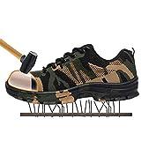SITAILE Uomo Scarpe da Lavoro Industria e Edilizia Sneaker Calzature da Escursionismo,Verde,EU 42