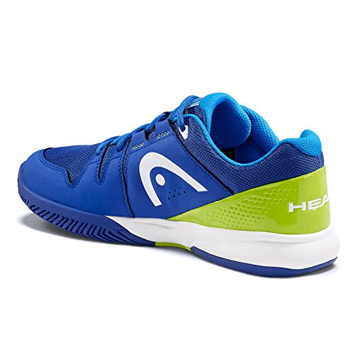 HEAD Unisex-Erwachsene Brazer Mens Tennisschuhe Blau (Blue/apple Green)