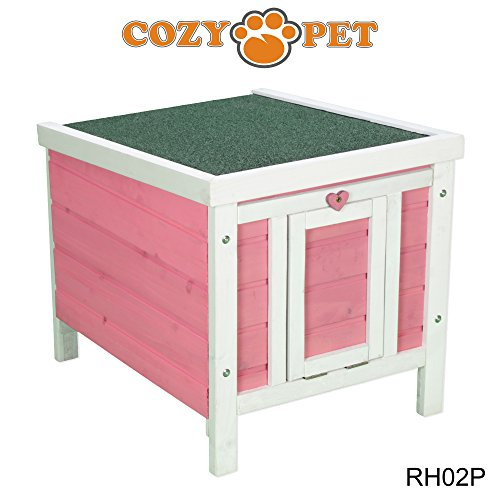 cozy-pet-rabbit-hide-hutch-run-guinea-pig-house-kitten-puppy-house-in-pink-rh02p-we-do-not-ship-to-n