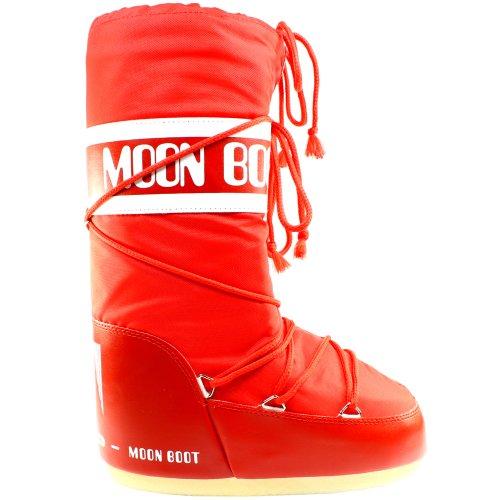 Moon Boot Tecnica Damen Stiefel Nylon Snow Boots - Rot - 39-41