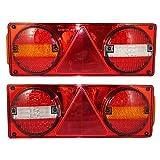 A1 LED-Rücklichter Kombinations- Rückleuchten Heckleuchten für Anhänger LKWs,24V