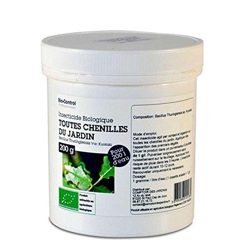 Agro Sens Insecticide au Bacillus Thuringiensis Toutes chenilles UAB 200 g