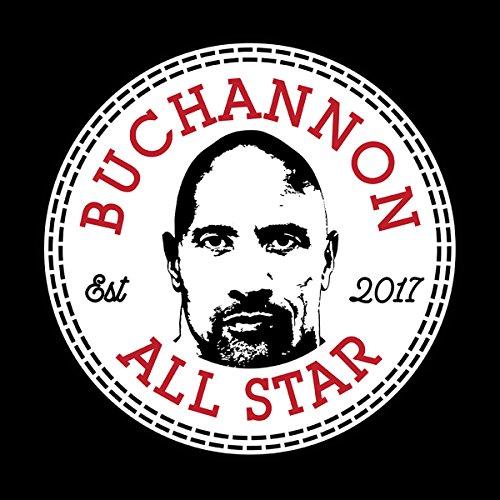 Dwayne Johnson Buchannon All Star Converse Logo Men's Vest Black