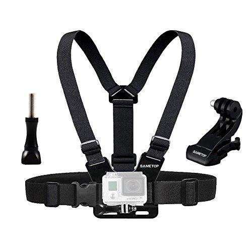 Sametop Brustgurt Halterung Gurtsystem Chest Mount für GoPro Hero 6, 5, 4, Session, 3+, 3, 2, 1 Kameras