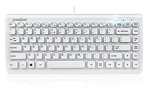Perixx PERIBOARD-407 Mini Teclado USB Español - Teclas