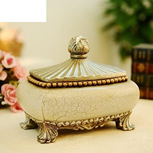 American Style Schmuck-Box Juwel Home Dekoration Kunsthandwerk Schmuck Coffee Table Konsole Stand