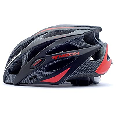 Qarape Profession Bike Helmet with Safety Light Adjustable Sport Cycling Helmet Bike Bicycle Racing Helmets for Road & Mountain Biking Motorcycle Safety Protective Outdoor Sports Helmet for Adult Men Women from Qarape