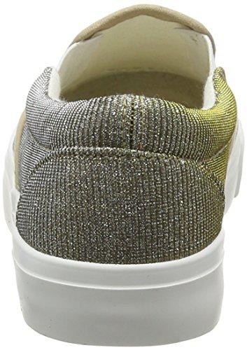New Look Mädchen Macho Glitter Sneaker Gold (Gold/93)