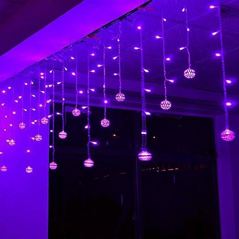 3.5m LED Ball Lichterkette String Lights für Außen Landschaft, Terrasse,