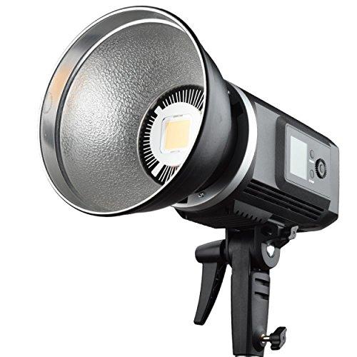 Godox SLB60W Bowens Mount 60W CRI93+ Groß LED LCD Platte LED Videoleuchte 5600K Weiß Licht Set mit 8700mAh Lithium Batterie/Mit Bedienungsanleitung - 8700 Lcd