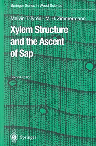 [(Xylem Structure and the Ascent of Sap)] [By (author) Melvin T. Tyree ] published on (October, 2002) par Melvin T. Tyree