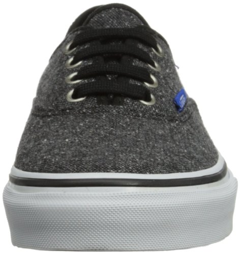 Vans T Authentic, Baskets mode mixte bébé Noir (S & P Black)