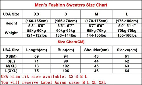 Jeansian Hommes Mode Motif Pull Casual Men's Simple Hedging Sweater Zipper Decoration Pullover Solid Color D726 gray