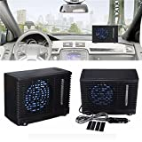 Winner Car air Conditioner, Portable Universal DC12V 3A 35W Home Car Mini Cooling Fan, Mobile Ice Evaporative Air Cooler car for hot summer