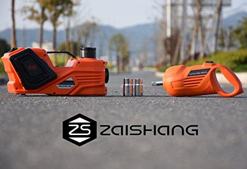 Preisvergleich Produktbild ZS ZAISHANG - 3T 15.5CM ~ 45CM Elektro-hydraulische Wagenheber, multifunktionales Gerät, Elektroschrauber Luftpumpe