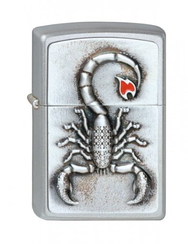 Zippo 2001808 Nr. 205 Emblem Scorpion w/Flame