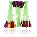 #6: Catterpillar 60 Seconds Fill & Automatic Tie Multi Colored Magic Bunch of Water Balloons (111 Balloons)